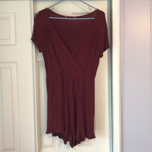 Other - Maroon romper